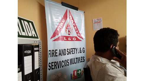 Fire And Safety L&G Servicios Múltiples E.I.R.L.