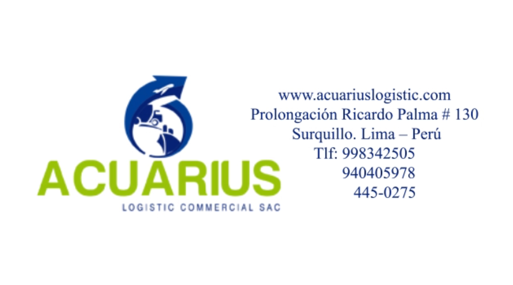 Acuarius Logistic