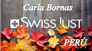 Carla Bornas Swiss Just Perú