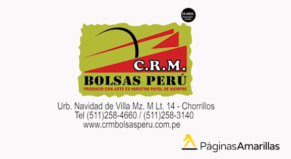 C.R.M.  Bolsas de Papel - Video 1 - Visitanos!