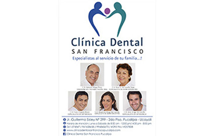 Clínica Dental San Francisco E.I.R.Ltda.
