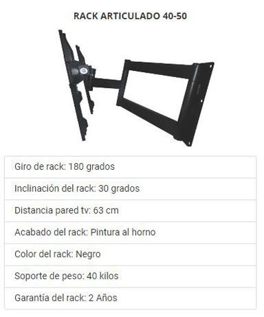 Rack Tv Perú