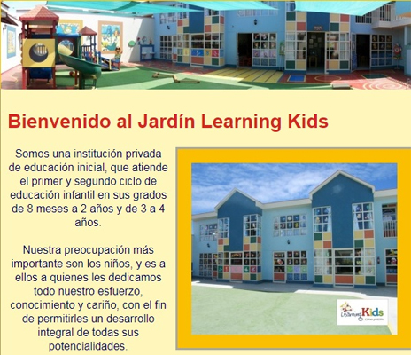 Learning Kids Cuna Jardín