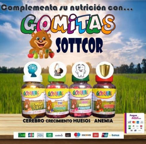 Gomitas Sottcor