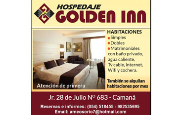 Hospedaje Golden Inn