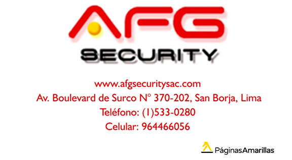 Afg Security S.A.C.