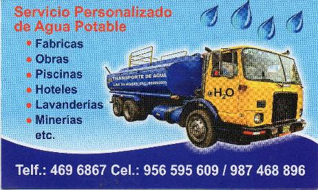 Transporte de Agua Potable Esgal